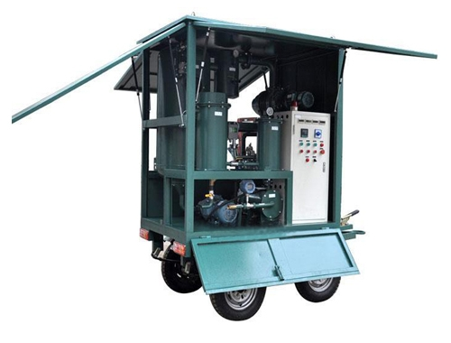Mobile Trailer High Vacuum Transformer Oil Purification Plant