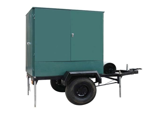 Mobile Trailer Single Vacuum Transformer Oil Purifier
