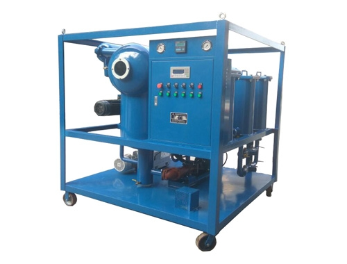 Double Stages Vacuum Insulating Oil Purifier