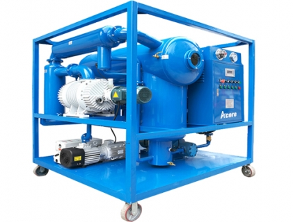 mobile transformer oil filtration machine