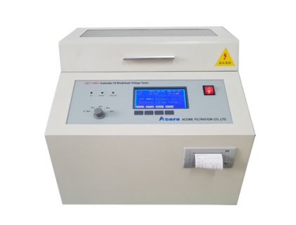 DST Oil BDV Tester for Testing Dielectric Breakdown Voltage Strength Of Insulating Oil