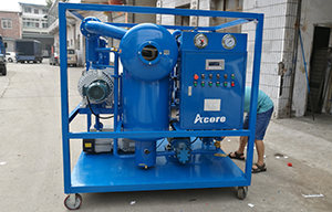 6000L/H Transformer Oil Filtration Machine to Malaysia Electrist