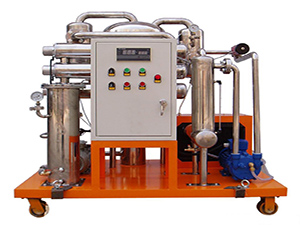 Renovation of Fire Resistant Oil Purifier Machine in Power Plant